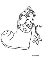 free christmas stocking coloring page for our german. Black Bedroom Furniture Sets. Home Design Ideas