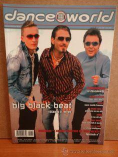DANCE WORLD. BIG BLACK BEAT TOCANDO EL RITMO. Nº 40 - ENERO 2002. REVISTA NUEVA