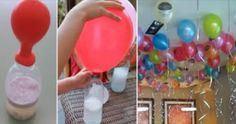 Palloncini gonfiati senza elio, ma ottenendo lo stesso risultato. Mettiamo 2 cucchiaini di bicarbonato nel palloncino, lo infiliamo del collo della bottiglia riempita precedentemente con 100 ml di aceto e aspettiamo che il palloncino si gonfi... Buon divertimento!!