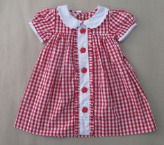Fantastic 15 Sewing tips are offered on our website. Baby Dress Design, Baby Girl Dress Patterns, Little Girl Dresses, Girls Dresses, Toddler Dress, Toddler Outfits, Kids Outfits, Gingham Dress, Baby Kind