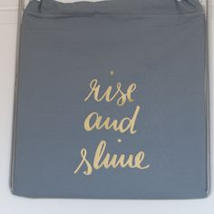 "Hipsterbag ""rise and shine"""