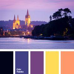 Color Palette No. Sunset Color Palette, Orange Color Palettes, Sunset Colors, Colour Pallette, Colour Schemes, Color Combos, Color Harmony, Color Balance, World Of Color
