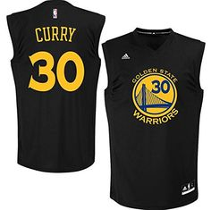 NBA Golden State Warriors Stephen Curry Replica Black Jersey youth 6a925fafb