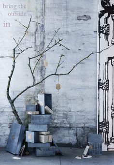 christmas, design, eco, industrial, interior design