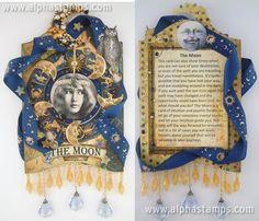 The Moon Tarot Card by @Laura Jayson Carson