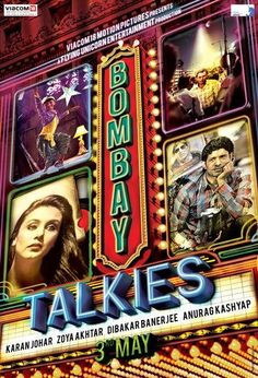 """Wallpaper Poster - Indian Bollywood hindi movie Bombay Talkies Somewhere I read about this movie getting a Star"""" ratings and that made me more curious to go and watch this film. But doesn't a Star"""" ratings means Bollywood Posters, Bollywood Songs, Bollywood News, Indian Bollywood, Bombay, Hindi Movies Online, Amitabh Bachchan, Indian Movies, Katrina Kaif"""