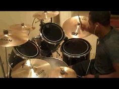 Linkin Park - The Catalyst (Drum Cover) - Black guy