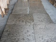 ANTIQUE RECLAIMED FRENCH STONE FLOORS TILE - For Sale