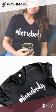 Homebody Tee    Unisex Fit S, M, L Like to be notified Tops Tees - Short Sleeve
