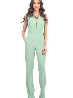 Dámsky Overal CARLA BY ROZARANCIO  Dámsky Overal  women fashion  overall   fashion trends  mint color 855c2c25191