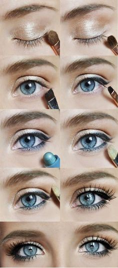 For nearly all women with blue eyes makeup application can be difficult. Not all women have the same basic eye shades so it can be even harder to go with tips that give you a small color scale.
