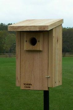 Standard Bluebird Nest Box