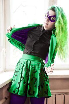 The Riddler Female Costume DC