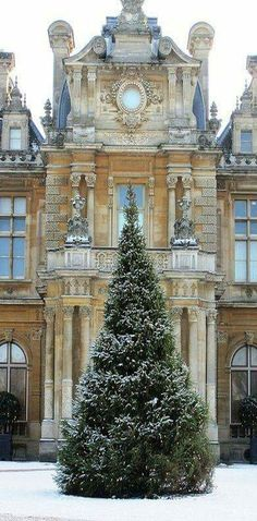 Waddesdon Manor is a country house in the village of Waddesdon, in Buckinghamshire, England