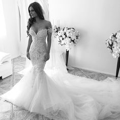Joanna Wears #stevenkhalil Couture Wedding Gown. @susieayoubmakeup @aehair