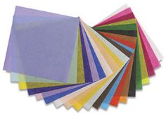 Blick Art Tissue - great selection of colors