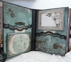 Heartfelt Creations Once Upon a Time Mini Album - Scrapbook.com