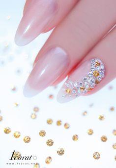 #diamond #nail #nail_art