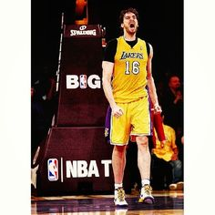 Yesterday Pau Gasol started his rehab. #PauGasol #Pau #Gasol #NBA #Lakers #LA #basketball #Player #NBAmaniacs #Basket #16 #PG16 #Rehab #Recoversoon
