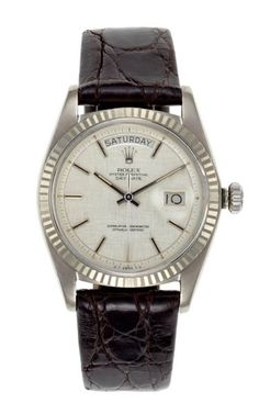 """Rolex DayDate - the """"President"""" in white gold"""
