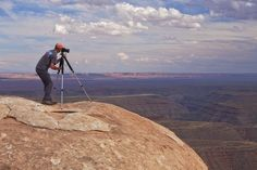 A photographer on the edge of Cedar Mesa, Utah.  Prints | Licensing | Info http://www.alpenglowimagesphotography.com  #utahisrad #protectbearsearsnow #visitutah #nationalmonument #rockart #pictographs #photography #optoutside #rei1440project #getoutstayout