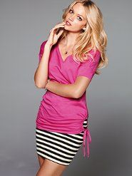 Hot pink and stripes