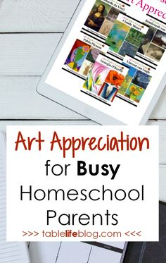 Too busy for art appreciation planning? My favorite art appreciation option has you covered! Homeschool Curriculum Reviews, Homeschool High School, Homeschooling, Art Activities For Kids, Preschool Art, Kindergarten Art, High School Art, Public School, Middle School