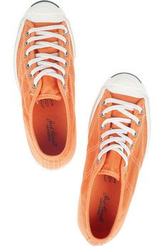 Orange Jack Purcell Converse...
