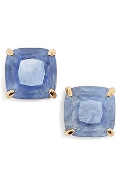 How gorgeous are these stud earrings from Kate Spade? Wear them to add a hint of color to any outfit.