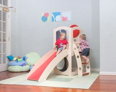 CedarWorks Debuts Compact Play Structures To Keep Kids Entertained Indoors