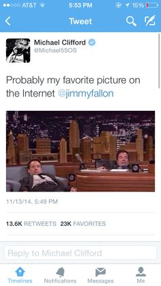 I would have to agree with Michael! Hahah I love jimmy!