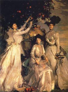 """John Singer Sargent, """"Le sorelle Acheson"""""""
