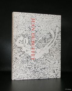Artist/ Author: Jean Dubuffet Title : Jean Dubuffet Publisher: Guggenhein Museum, 1973 Number of pages: 305 pages plus cover Text / Language: english Measurements: 11.1 x 8.3 inches Condition: nm(+) e