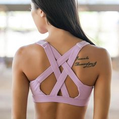 Short Description This women sports bra is designed to absorb shock and reduce breast bounce for women during sports and workout. Made of polyester and spandex, it fits comfortably and cups the breast firmly allowing for breathing. It features quick dry and reduces moisture, keeping you protected from the rays of the sunlight during a workout. Application They are used by women for training and workout to absorb shock and eliminate breast bounce. It can be used for yoga, running…