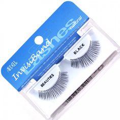Ardell Invisiband Eyelashes #Beauties Ardell Eyelashes, Cosmetics, Makeup, How To Make, Beauty, Maquillaje, Beleza, Maquiagem, Beauty Products