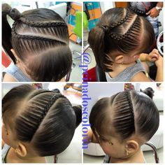 Braids lace French tight headband one sided pony tail Little Girl Braids, Braids For Kids, Girls Braids, Lil Girl Hairstyles, Messy Hairstyles, Pretty Hairstyles, Updo Hairstyle, Prom Hairstyles, Hair Due