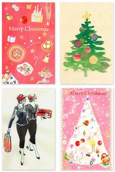 Free Printable Artist Designed Holiday Cards