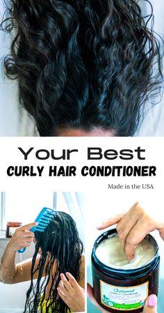 Curly Hair Tips, Curly Hair Care, Curly Hair Styles, Natural Hair Styles, Hair Tonic, Healthy Hair Tips, Hair Vitamins, Brown Blonde Hair, Hair Remedies