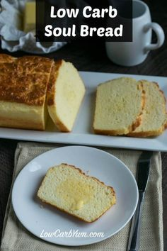 Keto Are you looking for a tried and true low carb bread recipe that has been adequately tested? Check out the low carb Soul Bread recipe! Best Low Carb Bread, No Bread Diet, Lowest Carb Bread Recipe, Keto Bread, Protein Bread, Egg Protein, Cooking Bread, Yeast Bread, Cooking Tips