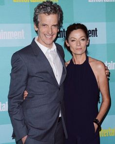 ✿ (@dailycapaldi) on Twitter Peter Capaldi and Michelle Gomez