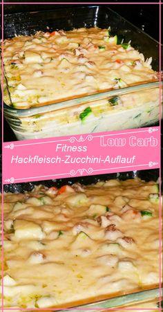 Fitness Hackfleisch-Zucchini-Auflauf – GesundeRezepte.me