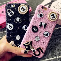 Fashion Diamond Leather Woven Pattern Hard Phone Case Cover For iPhone & Samsung //Price: $10.54 & FREE Shipping //     #phoneromeo