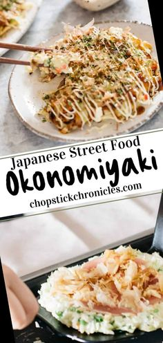 Okonomiyaki is a Japanese savoury pancake. It differs by region and this authentic recipe is the well known and mouth-watering Osaka okonomiyaki. Follow this easy savoury pancake recipe and also make your own okonomiyaki sauce, or simply purchase it from a local store. A healthy meal with simple vegetarian or vegan options.#Pancake #Recipe Pancake Recipe For One 36+ Osaka Okonomiyaki   Pancake Recipe For One Year Old   2020 Savoury Pancake Recipe, Savory Pancakes, Vegan Options, Meals For One, Osaka, Street Food, Risotto, Vegetarian