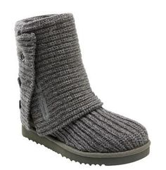 UGG Australia 'Cardy' Classic Knit Boot (Women) #Glimpse_by_TheFind
