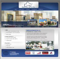 Diseño de página web de Casasjilo