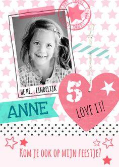 Schattig lief en populair verhuiskaartje van hout voor kaartje2go ontwerp zus en ik - Origineel foto kind ...