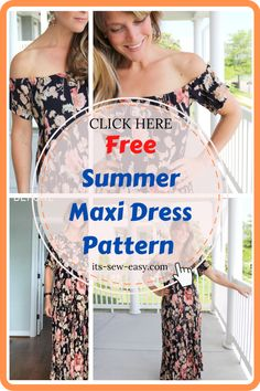 The pattern is quite resourceful and offers an instruction manual that walks through the process of giving your maxi dress a complete makeover to make it the center of attention during summer. If you have some minutes to spare and you're looking for a quick project that will yield some great results, this pattern is just for you. #maxidresssewingpattern#sewingpatterns#dresssewingpatterns#summerdresspatterns#sewingdresses Summer Maxi, Summer Dresses, Maxi Dress Tutorials, Sewing Essentials, Summer Dress Patterns, Stunning Summer, Free Summer, Love Sewing, Walks
