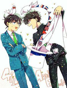 #wattpad #ngu-nhin ❗Imágenes, Memes, traducciones, noticias y mas sobre Detective Conan y Magic Kaito ❗ヽ('▽`)/ ☄Pasa y diviértete un poco! (〜^∇^)〜 ↪❎「 ATENCIÓN: Esta obra contendrá tanto Yaoi como Yuri y Hetero. 」❎↩ 🚫Las imagenes que publiqué aqui NO son de mi propiedad ٩(^ᴗ^)۶ en cada apartado dejare creditos a cad... Magic Kaito, Conan Comics, Detektif Conan, Yuri, Detective Conan Shinichi, Magic For Kids, Kaito Kuroba, Kaito Kid, Popular Manga