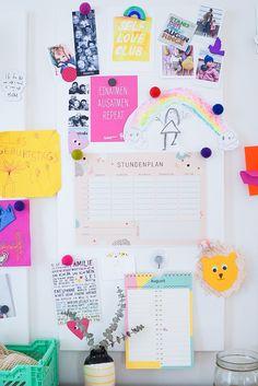 Free Printable Stundenplan zur Einschulung für schöne Schulstunden Der Plan, Back To School, School Stuff, Free Printables, Office Supplies, Bullet Journal, Blog, Diy, Inspiration