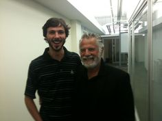 Ben Miley w/ Johnathan Goldsmith (The Most Interesting Man in the World)